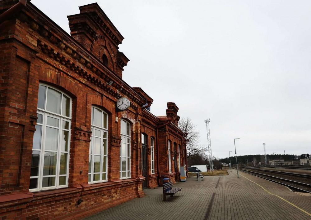 Jonavos geležinkelio stotis