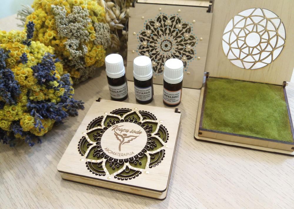 """Aromaterapijos studija ,,Kvapų sode"""""""