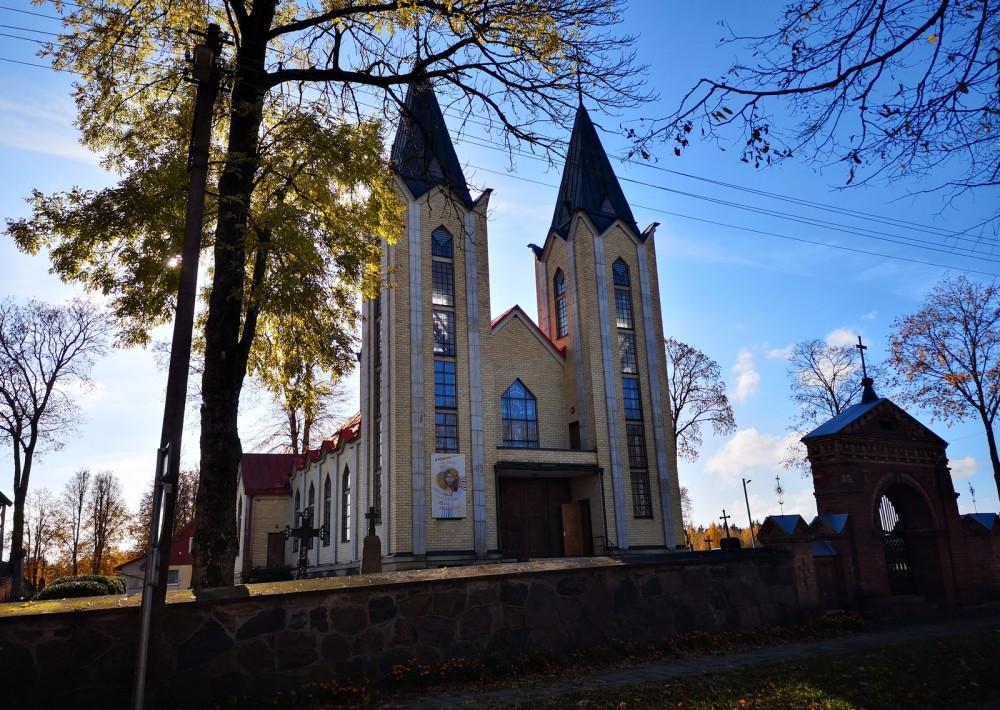 Panoterių  Šv. Kryžiaus Atradimo bažnyčia